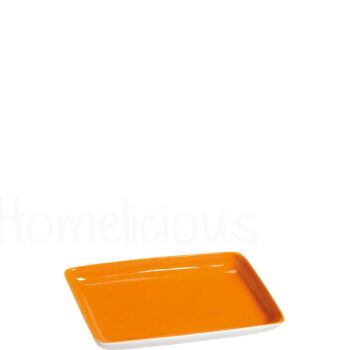 Πιατελάκι TETRA 1281 [14,5x9 cm] Πορσελάνη Πορτοκαλί|Apulum