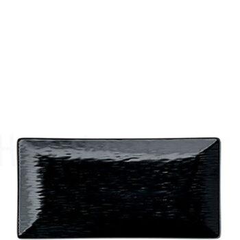 Πιάτο Ρηχό RELIEF Stoneware Μαύρο|Elite