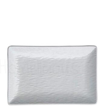 Πιάτο Ρηχό RELIEF Stoneware Λευκό|Elite