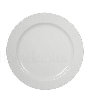 Πιάτο Ρηχό SEMELI 1292 Πορσελάνη Λευκό|Apulum