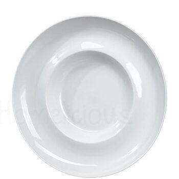 Πιάτο Ζυμαρικών ROMA 591 [Φ30,5 cm] Πορσελάνη Λευκό AXA
