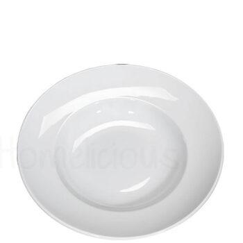 Πιάτο Ζυμαρικών 699 [Φ30 cm] Πορσελάνη Λευκό AXA