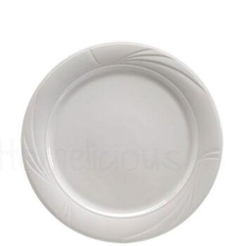 Πιάτο Ρηχό NEFELI 1259 Πορσελάνη Λευκό|Apulum