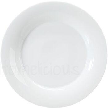 Πιάτο Ρηχό 804 [Φ35 cm] Πορσελάνη Λευκό|Apulum