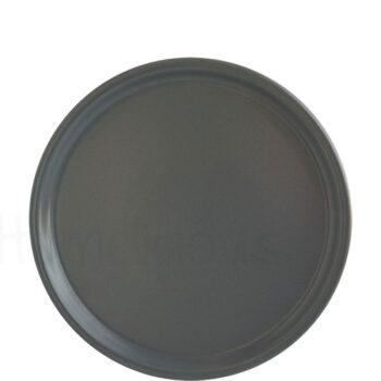 Πιατέλα Πίτσας FLAT [Φ30 cm] Stoneware Γκρί|Elite