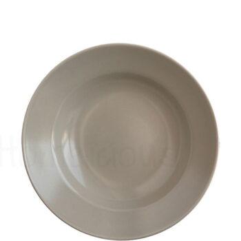 Πιάτο Ζυμαρικών STONE [Φ29 cm] Stoneware Μπεζ Elite
