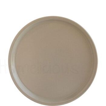 Πιατέλα Πίτσας FLAT [Φ30 cm] Stoneware Μπεζ|Elite