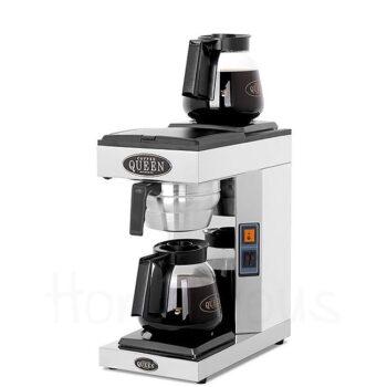 Μηχανή Φίλτρου Ηλ M-2 2390 W Ασημί Coffee Queen