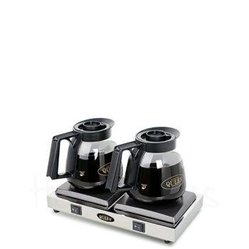 Εστία Θέρμανσης Ηλ V-2 190 W Ασημί Coffee Queen