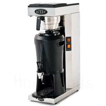 Μηχανή Φίλτρου Ηλ MEGA Gold 2200 W Ασημί Coffee Queen