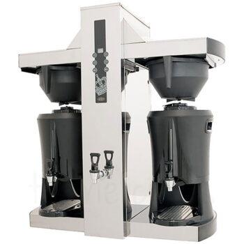 Μηχανή Φίλτρου Ηλ TOWER 9000 W Ασημί Coffee Queen