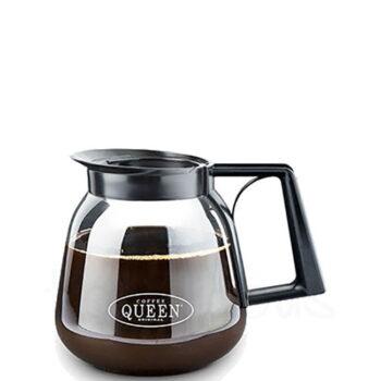Κανάτα M-2 1,8 lt Γυαλί Μαύρο Coffee Queen