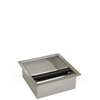 Knock Box cts Εντοιχιζόμενο [15x15 cm] Inox Ασημί|Joe Frex