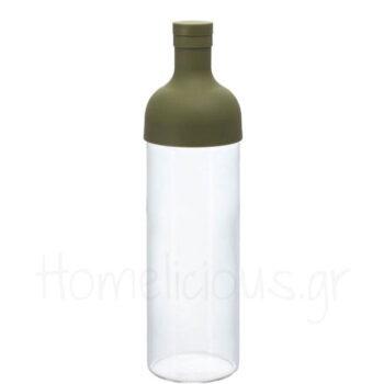 Filter Bottle TEA 750 ml Γυαλί Πράσινο|Hario