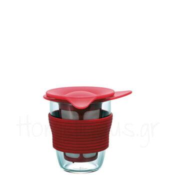 Handy Maker MEDIUM Tea 200 ml Γυαλί Κόκκινο|Hario