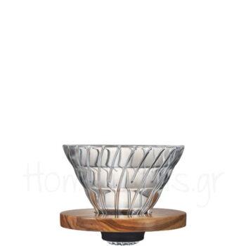 Dripper V60 [02] Ξύλο Καφέ|Hario