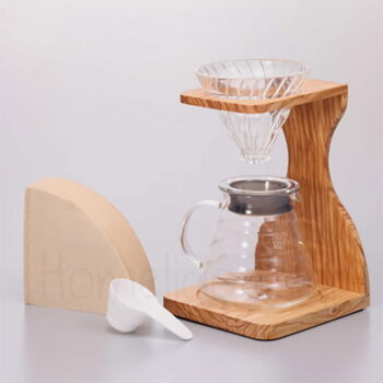 Pour Over V60 OLIVE [02] (5 Τεμ) |Hario