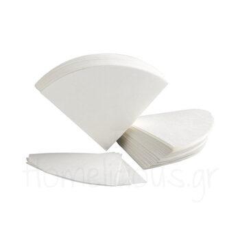 Φίλτρο (100 Τεμ) 6 Cups Χαρτί Λευκό|Chemex