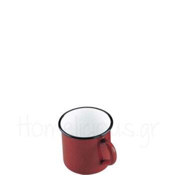 Κούπα ROJA 20 cl Εμαγιέ Κόκκινο|Ibili
