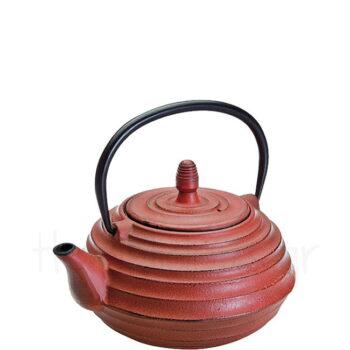 Τσαγιέρα CEYLAN 700 ml Μαντέμι Κόκκινο|Ibili