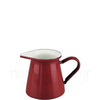 Κανάτα ROJA 500 ml Εμαγιέ Κόκκινο|Ibili