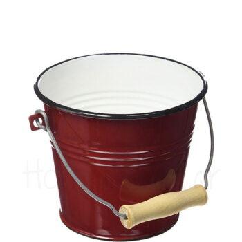 Σαμπανιέρα ROJA 5,5 lt Εμαγιέ Κόκκινο|Ibili