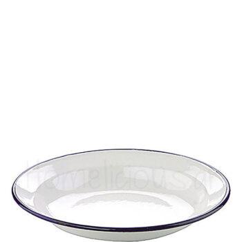 Πιάτο Βαθύ BLANCA Εμαγιέ Λευκό Ibili