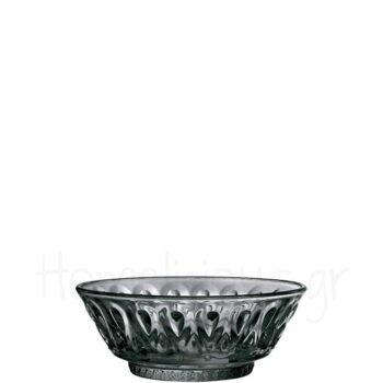 Μπολ Παγωτού LYONNAIS [Φ14|6 cm] Γυαλί Μαύρο/Διαφανές|La Rochere