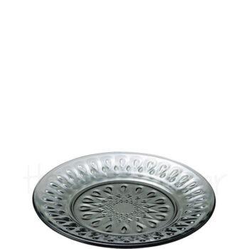 Πιάτο Ρηχό LYONNAIS [Φ21 cm] Γυαλί Ανθρακί|La Rochere