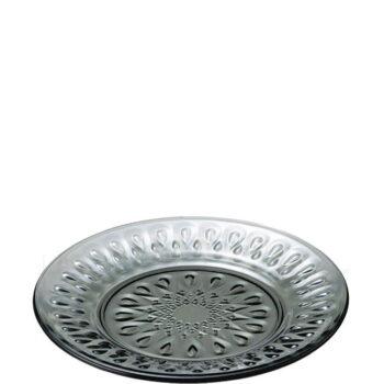 Πιάτο Ρηχό LYONNAIS [Φ26 cm] Γυαλί Ανθρακί|La Rochere