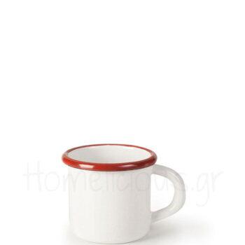 Κούπα BORDEAUX 40 cl Εμαγιέ Λευκό|Ibili