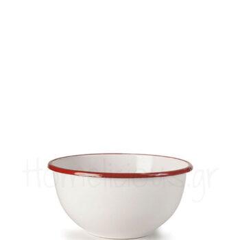 Μπολ Ξηρών Καρπών BORDEAUX [Φ14|8,5 cm] Εμαγιέ Λευκό|Ibili