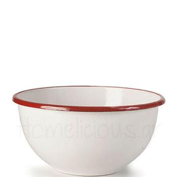 Μπολ Ξηρών Καρπών BORDEAUX [Φ20|11,5 cm] Εμαγιέ Λευκό|Ibili