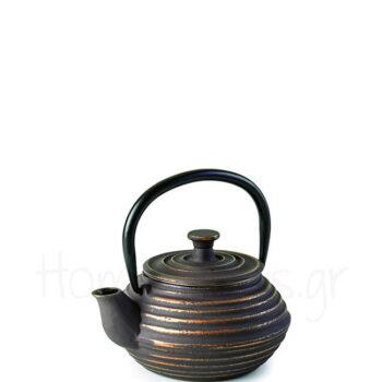 Τσαγιέρα BROWN [Φ13|12 cm] 300 ml Μαντέμι Καφέ|Ibili