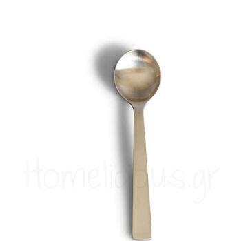 Κουτάλι Φαγητού EVO Brushed Inox Ασημί Acme