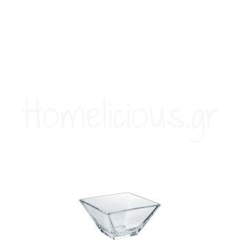 Μπολ MODI 14 [14x14|6,8 cm] 800 ml Γυαλί Διάφανο|Borgonovo