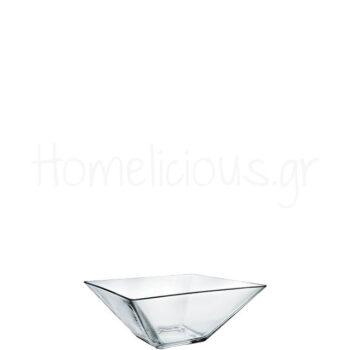Μπολ MODI 20 [20x20|8 cm] 1,2 lt Γυαλί Διάφανο|Borgonovo