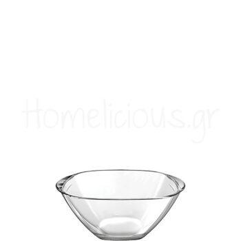 Μπολ MAGIC 19 [19x19|9,5 cm] 1,2 lt Γυαλί Διάφανο|Borgonovo