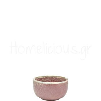 Μπολ Σερβ TERRA Rose Round [Φ12,5|6,5 cm] Πορσελάνη|GenWare