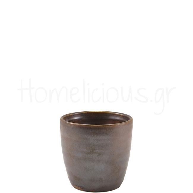 Κούπα TERRA Rustic Copper (Χωρίς Χέρι) [Φ8,7|8,7 cm] 32 cl Πορσε