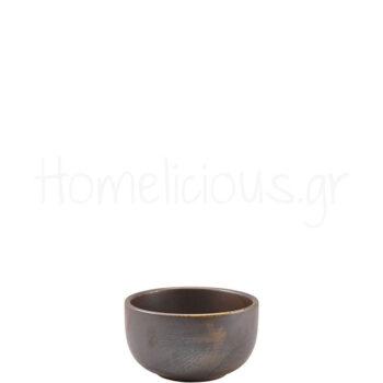 Μπολ TERRA Rustic Copper [Φ12,5|6,5 cm] 50 cl Πορσελάνη|GenWare