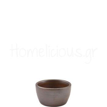 Μπολ Ramekin TERRA Rustic Copper [Φ7,8|4,3 cm] Πορσελάνη|GenWare
