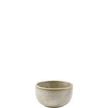 Μπολ Σερβ TERRA Matt Grey [Φ12,5|6,5 cm] Πορσελάνη|GenWare