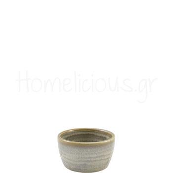 Μπολ Ramekin TERRA Matt Grey [Φ7,8|4,3 cm] Πορσελάνη|GenWare