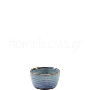 Μπολ Ramekin TERRA Aqua Blue [Φ7,8|4,3 cm] Πορσελάνη|GenWare