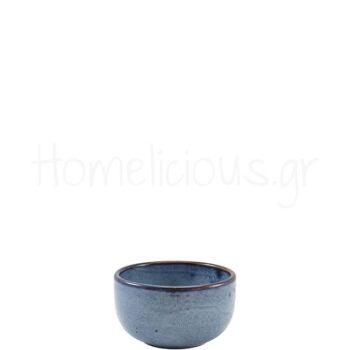 Μπολ Σερβ TERRA Aqua Blue [Φ12,5|6,5 cm] Πορσελάνη|GenWare